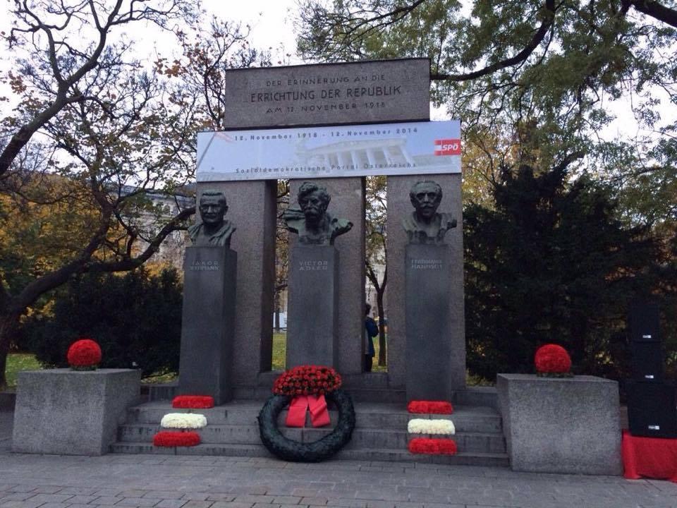 Der Erinnerung an die Errichtung der Republik am 12. November 1918