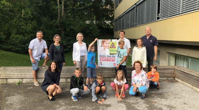 Schulweg-Initiative der SPÖ Hainfeld